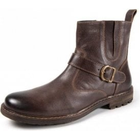 Kensington Oval 2 Brown Leather Boot