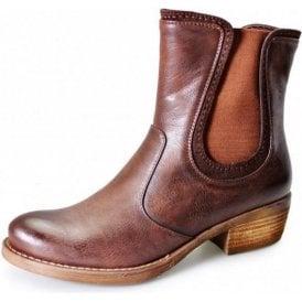 GLC421 Brown Ladies Chelsea Boot