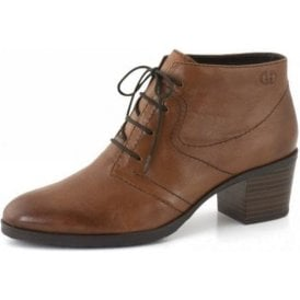 Casey 02 Brown Leather Ankle Boot
