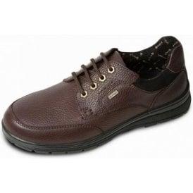 Terrain Brown Leather Waterproof Lace Shoe