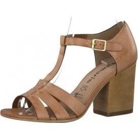 28349-26 Tan Leather Sandal