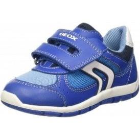 B Shaax B. D Royal Blue Velcro Boys Shoe