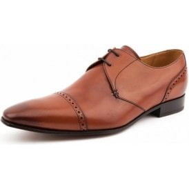 Brixton Brown Leather Lace up Shoe