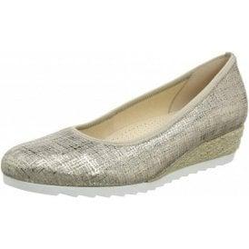 Epworth 82.641.65 Cotton Metallic Pump Shoe