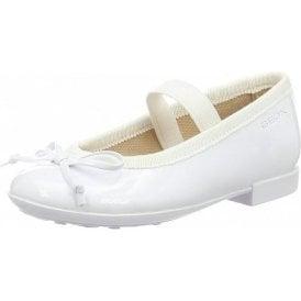 J Plie I J5455I White Patent Girls Shoe