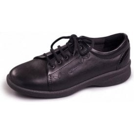 Refresh 2 Black Leather Lace Shoe