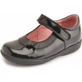 Maria Black Patent T-Bar Girl's Shoe