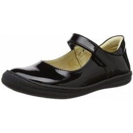 PTF 24322 Black Patent Girl's Shoe