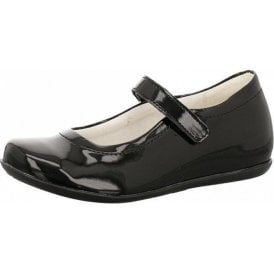 PFA 8204 Black Patent Girl's Shoe