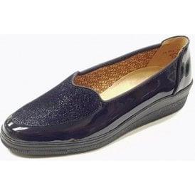 Blanche 76.404.66 Dark Navy Patent Pump Shoe