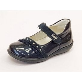 PHC 8096 Navy Patent Girl's Shoe