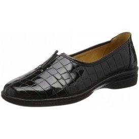 Alice 96.033.97 Black Patent / Croc Pump Shoe