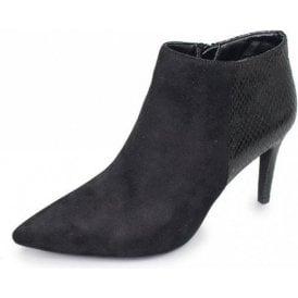 Harper GLE061 Black Ladies Ankle Boot