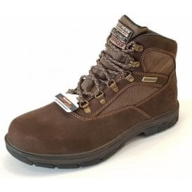 Relaxed Fit: Segment - Mixon Brown Nubuck Leather