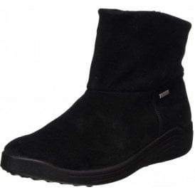 Madera 10 Black Leather Waterproof Boot