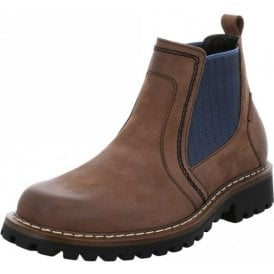 Chance 27 Brown Waxy Leather Boot