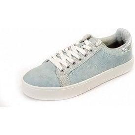 23724-20 Sky Blue Casual Lace Up Shoe