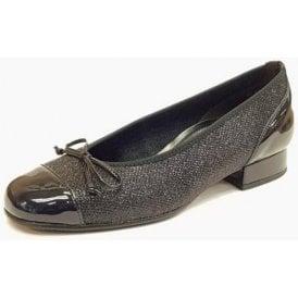 Emporium 86.102.36 Dark Navy Patent Pump Shoe