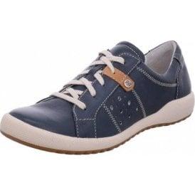 Cordoba 01 Ocean Navy Leather Lacing Shoe