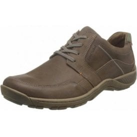 Nolan 32 Brown Leather Lace Shoe