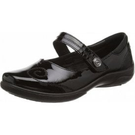Lyric Black Patent Mary Jane Shoe