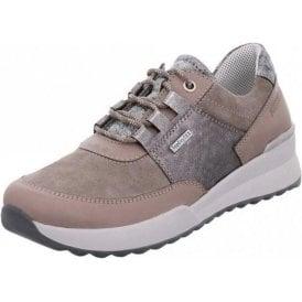 Victoria 01 Grey Combi Leather Waterproof Shoe