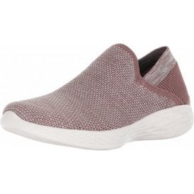 YOU - Rise Mauve Fabric Training Shoes