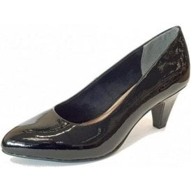22416-21 Black Patent Court Shoe