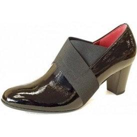 Function 92.165.87 Black Patent Trouser Shoe
