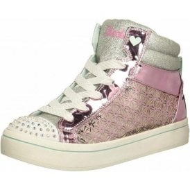 Twinkle Toes: Twi-Lites Glitter-Ups Pink / Silver Boots
