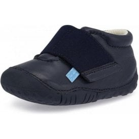Balance Navy Leather Boys First Shoe