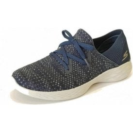 YOU - Prominence Navy Fabric Training Shoes