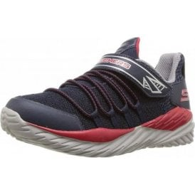 Nitro Sprint - Vector Shift Navy / Red Boys Trainer