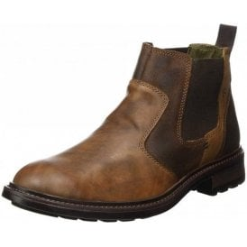 Oscar 29 Brasil Brown Leather Chelsea Boot