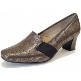 41781-13 Metallic Leather Shoe