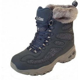 D'Lites - Bomb Cyclone Navy Waterproof Boot