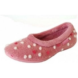 Bubbly KLM025 Pink Pump Slipper