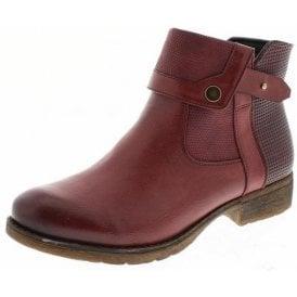Wendy 01 Bordo Ankle Boot