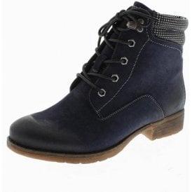 Wendy 02 Ocean Navy Ankle Boot