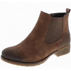 Wendy 04 Brown Chelsea Ankle Boot
