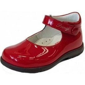 PPB 24020 Red Patent Girl's Shoe