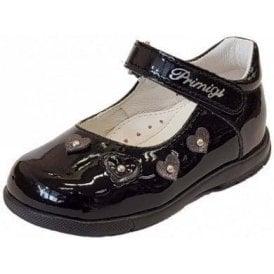 PPB 24021 Black Patent Girl's Shoe