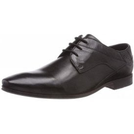 Morino 311-42004 Black Leather Formal Lace Up Shoe