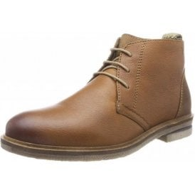 Stanley 02 Brown Leather Lace Up Boot