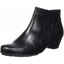 Heritage 95.638.27 Black Leather Ankle Boot
