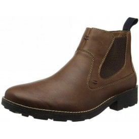 36062-25 Brown Leather Men's Chelsea Boot