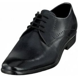 Lando 311-29405 Dark Navy Leather Formal Lace Up Shoe