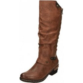 93655-26 Brown Synthetic Warm Lined Water Resistant Boot