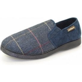 Harrison Blue Two Tone Full Slipper