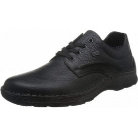 05310-00 Black Leather Water Resistant Shoe